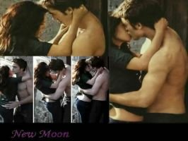 Bella and Edward kiss by exsplosive