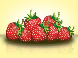 Strawberries by leosauthier