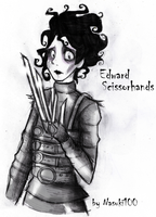 Edward Scissorhands by Nasuki100