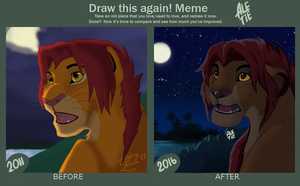 Draw this again by Ale-Tie