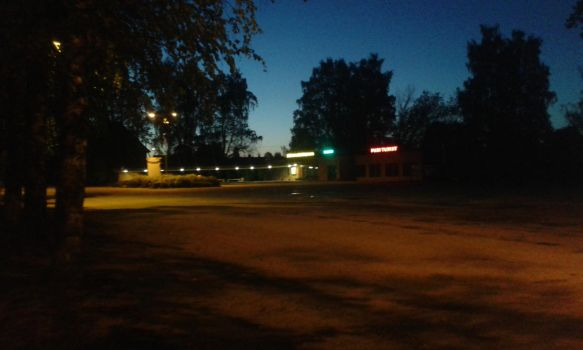 Bus station at night by Meelis3
