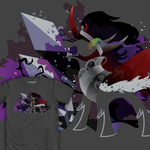 King Sombra Silhouette Shirt by SpaceKitty