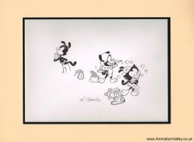 Original Kelley Jarvis Production Drawing by AnimationValley