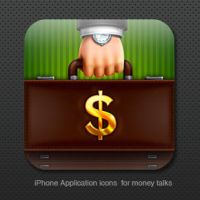 iPhone icon for money talks by st-valentin