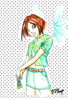 fairy will girl by VPdessin