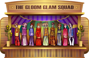 The Gloom Glam Squad by Viscious-Speed