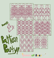 PATTERN PARTY by QueenofBees