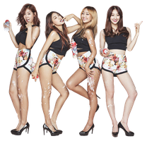 SISTAR - Touch My Body Render [PNG] by AbouthRandyOrton