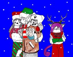 Christmas 2011- panel 1 by Catboy-Trades