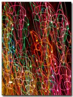 My abstract Christmas Tree by ricmerry
