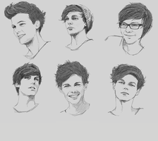 1D Studies- Louis by Itskaraoke