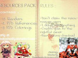 Resources Pack by Baka.Chasity by BakaChasity