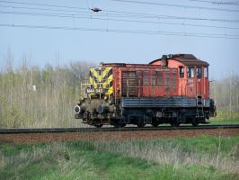 Diesel locomotive in Gyor 1 by morpheus880223