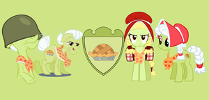 Granny Smith Wallpaper by erikagaga