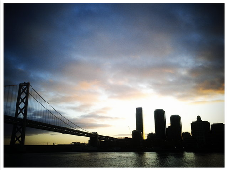 City Silhouette - San Francisco by nicayal