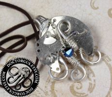 Steampunk Fork Pendant # 4 by Doctor-Gus