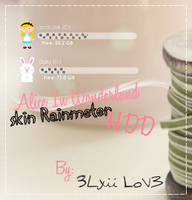 Skin Rainmeter HDD ALice Wonderfull by 3LxiiLov3