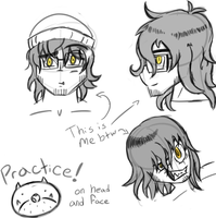 Face practice Pt.1 by HorrorshowMania