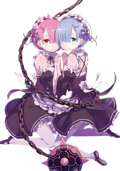 Rem And Ram by Juan-Start