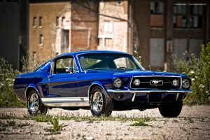 Blue Fastback by AmericanMuscle