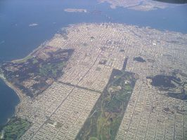 San Francisco by air by Lahe