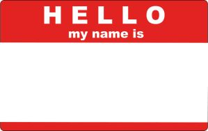 Hello My Name Is Sticker by trexweb