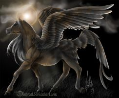 DarkSun Pegasus by Dinfreal
