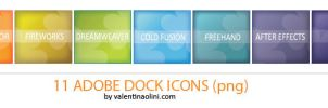 Adobe Dock Icons by Valen23901