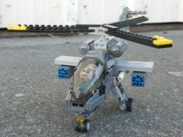 Lego Attack Helicopter (2) by LightbringerCosplay