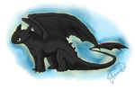 Toothless by Bluefox19