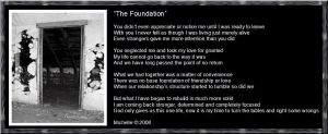 The Foundation by VisualPoetress