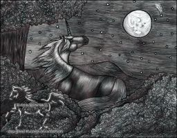 Wishing Upon A Star Drawing by Blood-Huntress