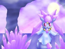 Diancie - Apprehension by Rose-Beuty