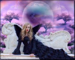 Sweet Dark Angel by sternenfee59