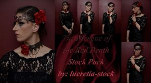 The Masque of the Red Death Stock Pack by lucretia-stock