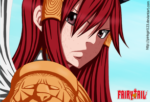 Erza - FT Manga 322 by PinkGirl123