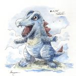 #158_Totodile by Manguinha