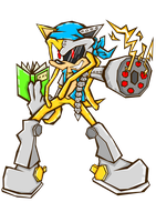 Over Sonic Battle style by Spinda-Der-Stahl