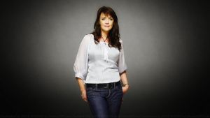 Amanda Tapping Portrait II by Dave-Daring