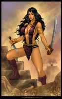 Commission: BELIT from Conan by johnbecaro