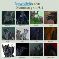 2011 summary of art by Jaewolfeh22z