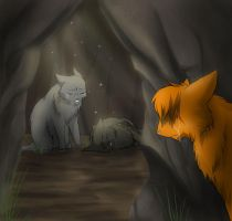 Yellowfang's Death by RiverSpirit456