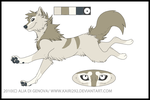 Wolf Adoptable CLOSED by Wolfariati