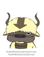 Animated Appa by His-Bushman