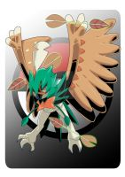 Decidueye. by Serpentkingsaul2