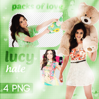 PNG PACK (70) Lucy Hale by DenizBas