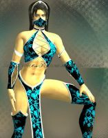 Black and Blue Kitana by IamPrincessKitana