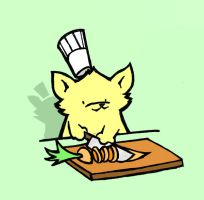 Chef Chaton by fightingferret