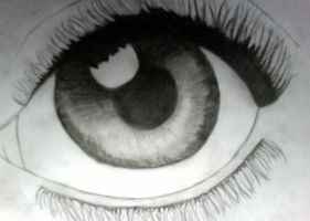 Charcoal Eye by madcourt16