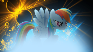 Rainbow Dash Wallpaper by Huskyfan